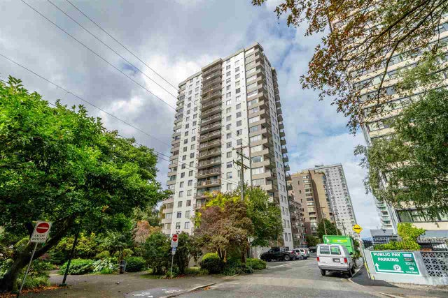 1004 1251 CARDERO STREET - West End VW Apartment/Condo for sale, 1 Bedroom (R2420490) #1